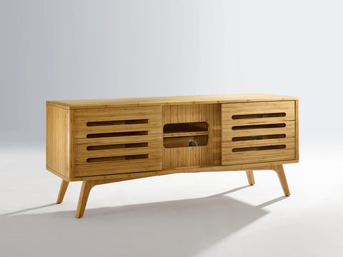 Greenington Azara Media Cabinet, Caramelized - Media Cabinet - Bamboo Mod - 5