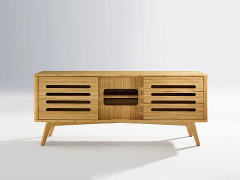 Greenington Azara Media Cabinet, Caramelized - Media Cabinet - Bamboo Mod - 6