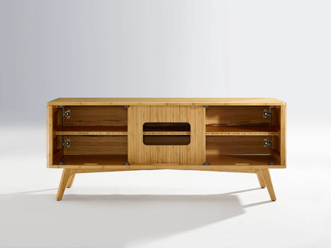 Greenington Azara Media Cabinet, Caramelized - Media Cabinet - Bamboo Mod - 8