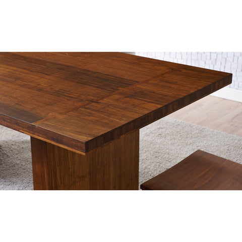 "Greenington Modern Bamboo Aurora Dining Table 72"" Dining Tables - bamboomod"