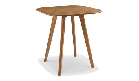 Greenington Cosmos Bar Height Table, Caramelized - Side Tables - Bamboo Mod - 1