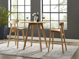 Greenington Cosmos Bar Height Table, Caramelized - Side Tables - Bamboo Mod - 2