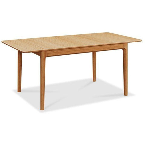 Greenington Modern Bamboo Mija Laurel Extension Table 36 x 50, Caramelized GL0004CA