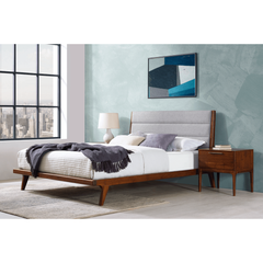 3pc Greenington Mercury Modern Bamboo King Bedroom Set In Exotic (Includes: 1 King Bed & 2 Nightstands)