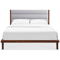 Greenington Mercury Modern Bamboo Upholstered Queen Bed, Exotic - GM001E