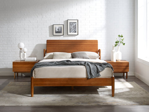 Greenington Monterey King Platform Bed, Amber - GMT0002AM