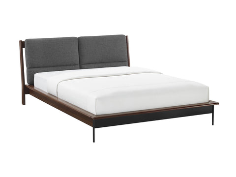 Greenington Park Avenue King Platform Bed with Fabric, Ruby - GPA0002RB