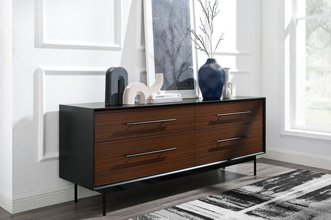Greenington Park Avenue 4 Drawer Double Dresser - GPA0006RB -  - BambooMod - 1