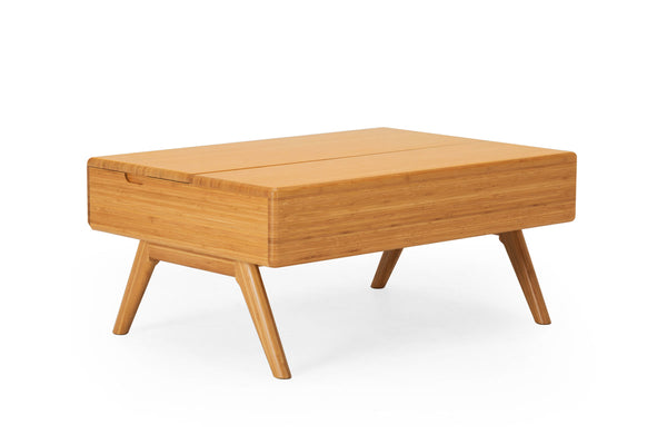 Greenington Rhody Lift Top Coffee Table, Caramelized - Cofee Table - Bamboo Mod - 1