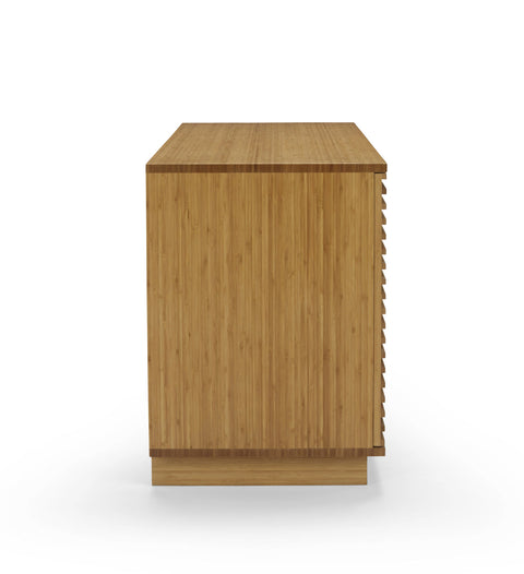 "Greenington 64"" Rowan Media Center, Caramelized - 0 - Bamboo Mod - 6"