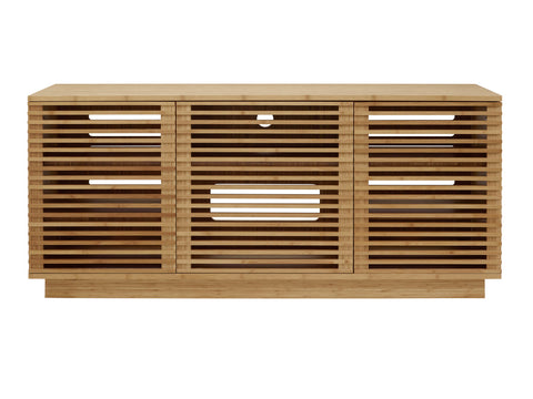 "Greenington 64"" Rowan Media Center, Caramelized - 0 - Bamboo Mod - 10"