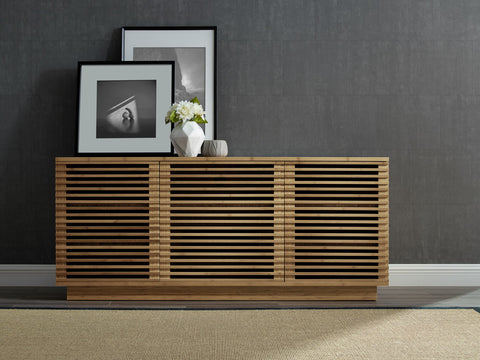 "Greenington 64"" Rowan Media Center, Caramelized - 0 - Bamboo Mod - 12"