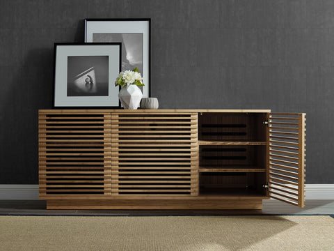 "Greenington 64"" Rowan Media Center, Caramelized - 0 - Bamboo Mod - 15"