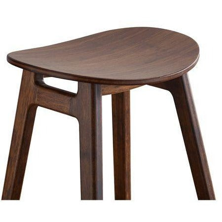 Greenington Modern Bamboo Skol Bar Height Stool, Caramelized or Exotic (set of 2)