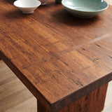 "Greenington Sequoia 84"" Dining Table, Distressed Exotic - Dining Tables - Bamboo Mod - 4"
