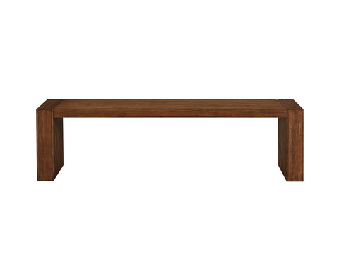 "Greenington Sequoia 64"" Long Bench, Distressed Exotic - Benches - Bamboo Mod - 2"