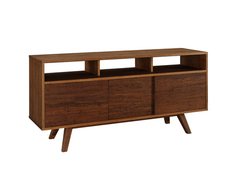 Greenington Sequoia Sideboard Media Cabinet, Distressed Exotic - Cabinets - Bamboo Mod - 1