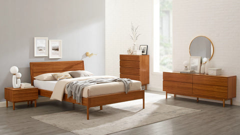 Greenington Ventura 4 Drawer Double Dresser - GVA0006AM -  - BambooMod - 1