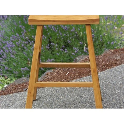 "Greenington Modern Bamboo Erica Stool 26H"" - 30H"" (Set of 2) Bar Stools - bamboomod"