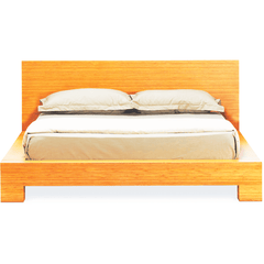 Greenington Orchid King Eastern Modern Bamboo Platform Bed Beds - bamboomod