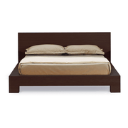Greenington Modern Orchid Queen Bedroom Set (Includes: 1 Queen Bed & 2 Nightstands) Beds - bamboomod