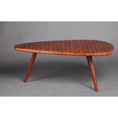 Greenington Modern Bamboo Roche End Grain Coffee Table Coffee Tables - bamboomod
