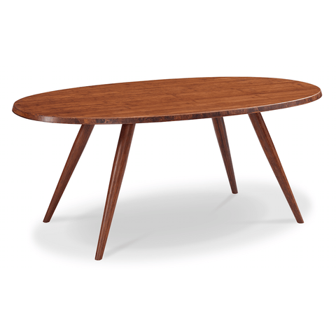 Greenington Modern Bamboo Ceres Oval Coffee Table Coffee Tables - bamboomod