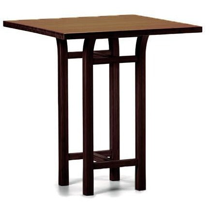 "Greenington Modern Bamboo Tulip 40"" Bar Height Table Bar Tables - bamboomod"