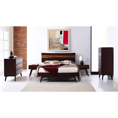 Greenington Modern Bamboo Azara Eastern King Platform Bedroom Set (Includes: 1 King Bed, 2 Nightstands, 2 Dressers)