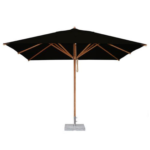 Bambrella Levante 2.5m x 3.5m Rectangle  Bamboo Umbrella Umbrellas - bamboomod