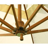 Bambrella Side Wind 3.5m Round Bamboo Umbrella