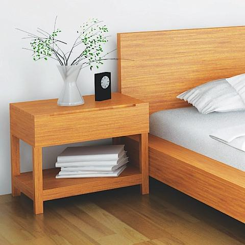 Greenington Modern Bamboo Orchid Nightstand Nightstands & Dressers - bamboomod
