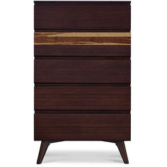 Greenington Modern Bamboo Azara Five Drawer Dresser Chest Nightstands & Dressers - bamboomod