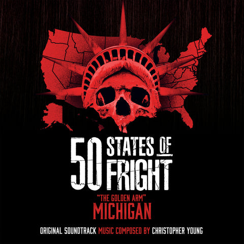 50 States Of Fright: The Golden Arm (Michigan) by Christopher Young (CD+24 bit digital bundle)