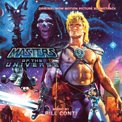 Masters Of The Universe (Standard Edition): Original MGM Motion Picture Soundtrack by Bill Conti (CD) (SOLD OUT)