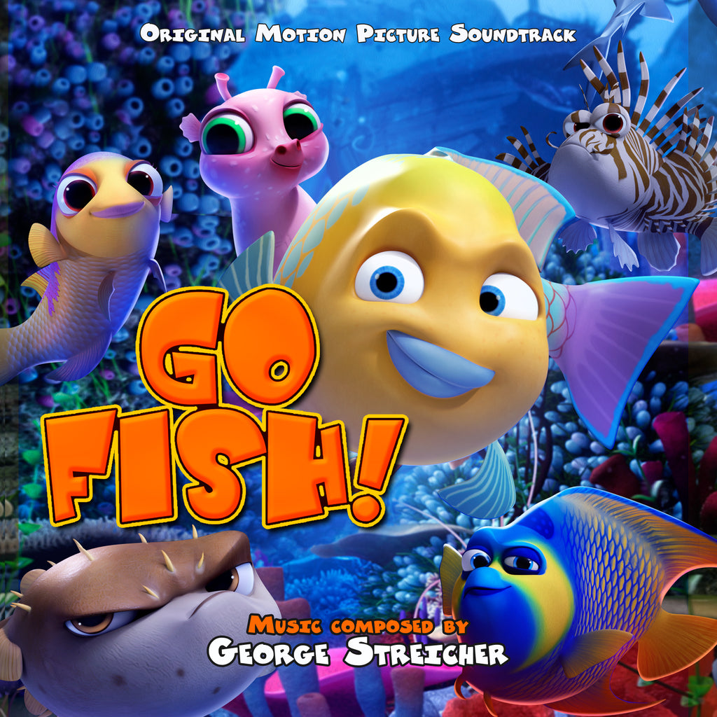 Go Fish by George Streicher (CD+24 bit digital bundle)