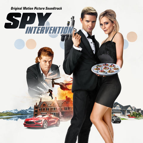 Spy Intervention Original Motion Picture Soundtrack (CD+24 bit digital bundle)