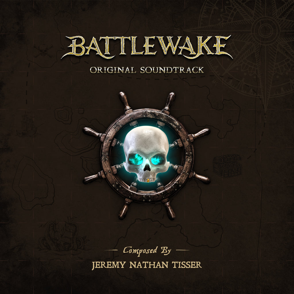 Battlewake by Jeremy Nathan Tisser (CD+24 bit digital bundle)
