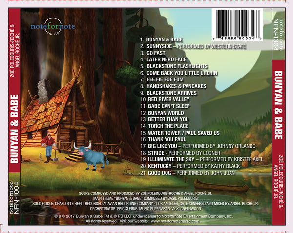 Bunyan & Babe: Original Motion Picture Soundtrack (CD)