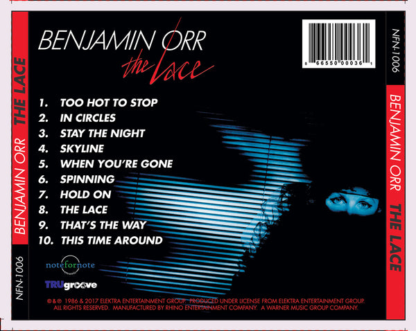 Benjamin Orr: The Lace (CD)
