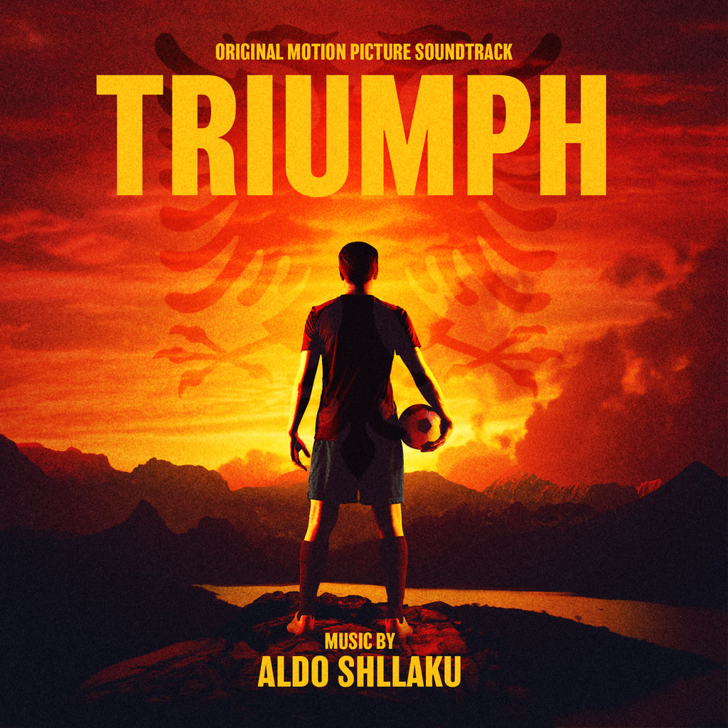 Triumph by Aldo Shllaku (CD+24 bit digital bundle)