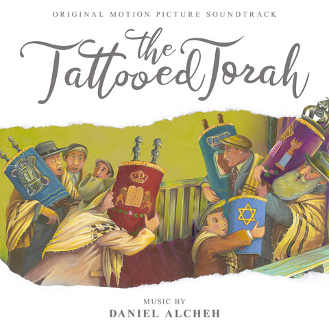 The Tattooed Torah by Daniel Alcheh (CD+24 bit digital bundle)