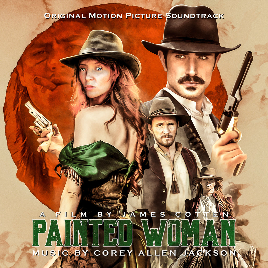 Painted Woman: Original Motion Picture Soundtrack by Corey Allen Jackson (Vinyl LP)