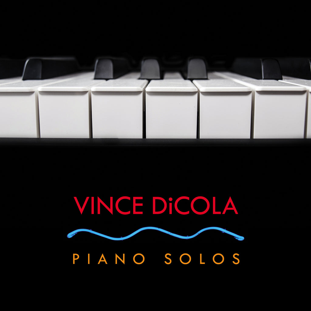 Vince DiCola: Piano Solos (CD+24 bit digital bundle)