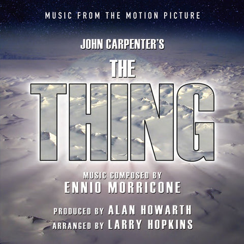 The Thing: Music From The Motion Picture by Alan Howarth and Larry Hopkins (2-LP Set)