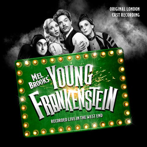 Mel Brooks' Young Frankenstein: Original London Cast Recording (LP+24 bit digital bundle)