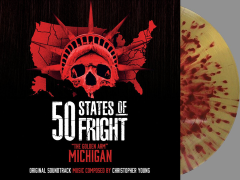 50 States Of Fright: The Golden Arm (Michigan) by Christopher Young (Vinyl LP+24 bit digital bundle)