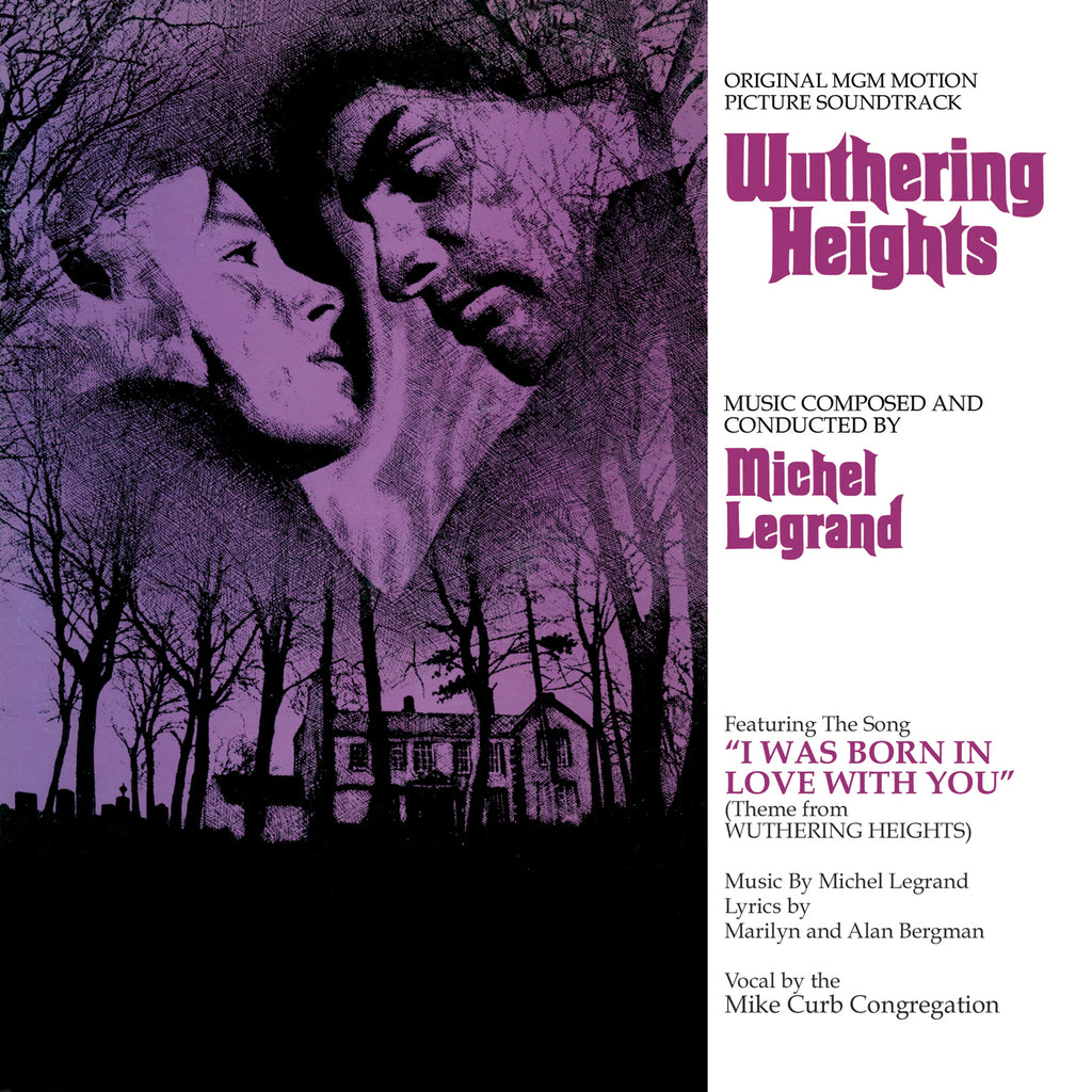 Wuthering Heights: Original MGM Motion Picture Score by Michel Legrand (Vinyl LP)