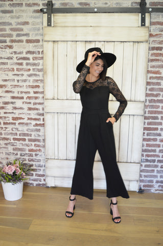 Lots of Lace Jumpsuit
