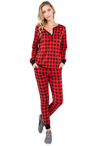 Buffalo Plaid Pajamas